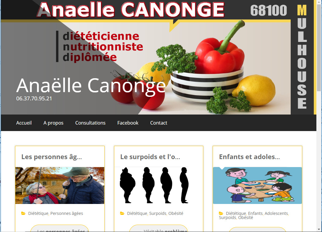 ANAELLE CANONGE DIÉTÉTICIENNE MULHOUSE