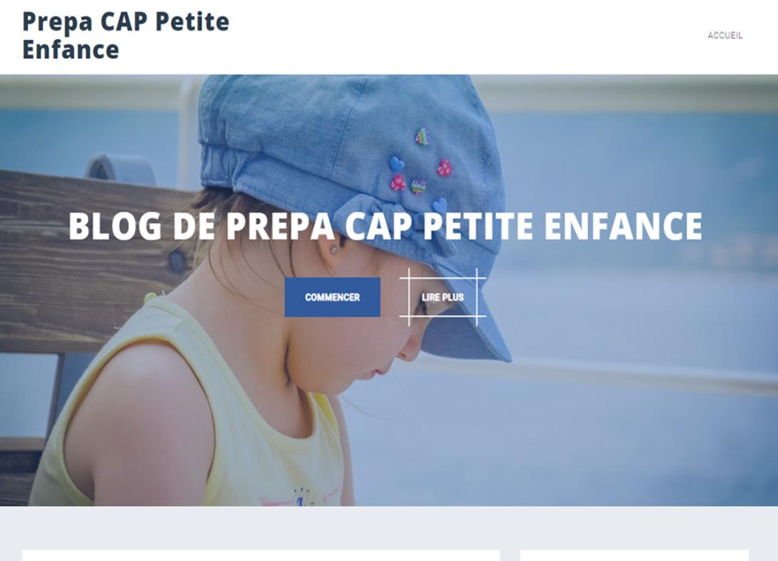 Prepa CAP Petite Enfance