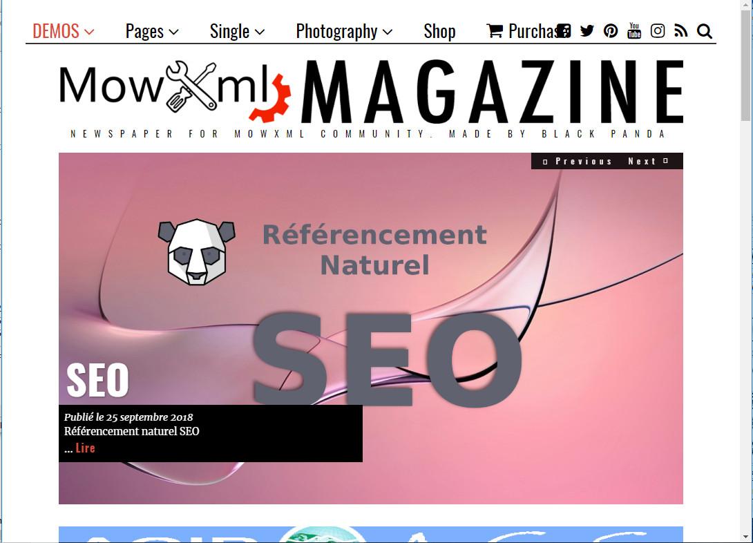 Thème Magazine